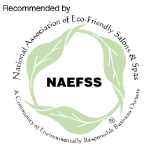 Recommended by the National Association of Eco-Friendly Salons & Spas